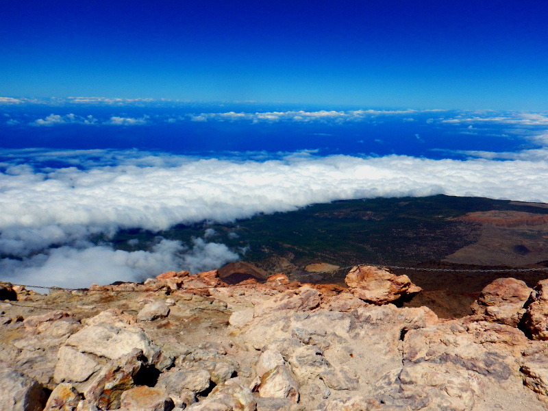 Pogled s Teide na Sever