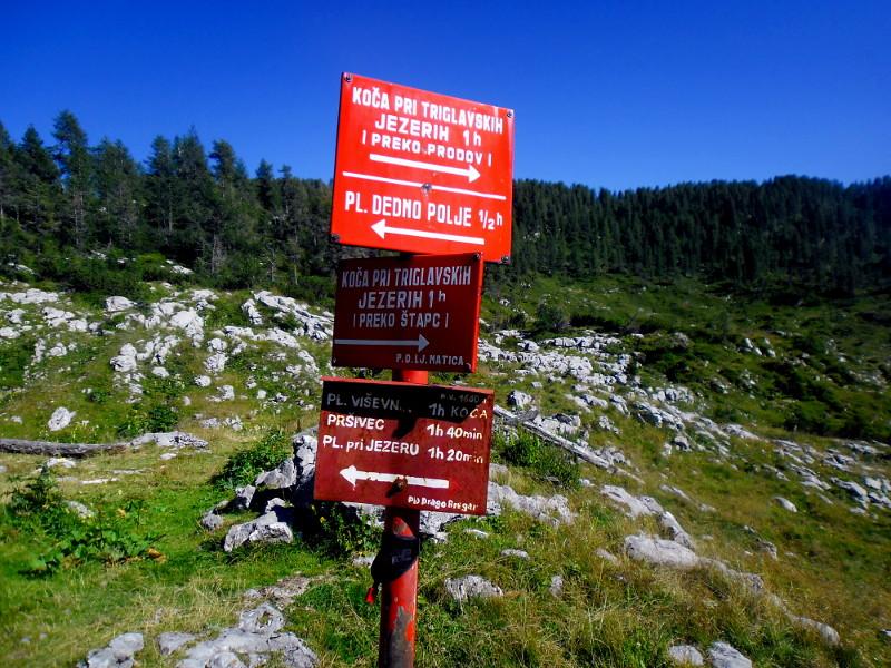 Načrtovanje izleta v gore