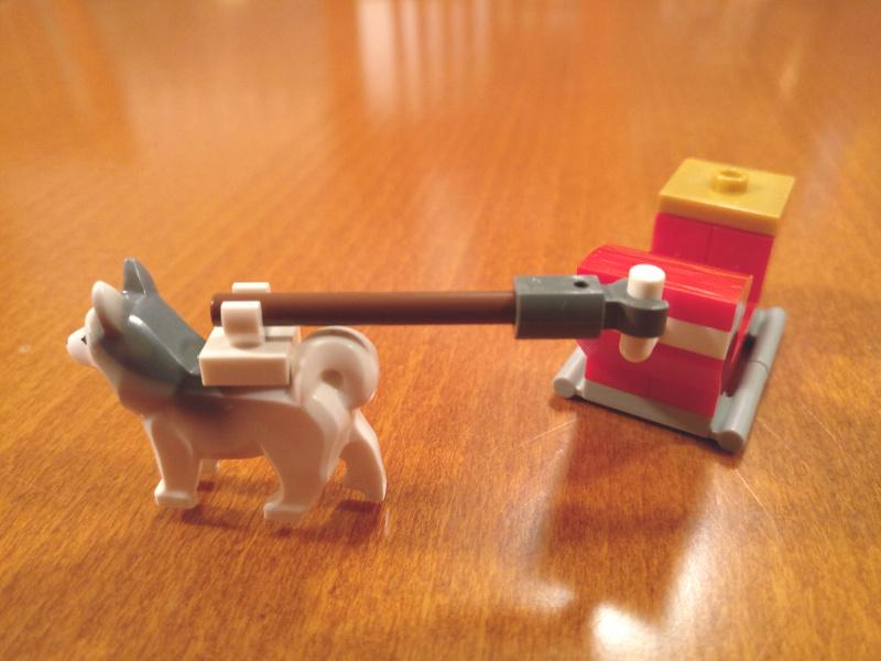 LEGO vlečna vprega